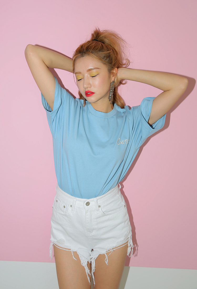 [Sold Out] curves logo t/소라